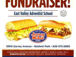 Grab a bite to eat and support our school!