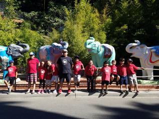 Students Visit LA Zoo