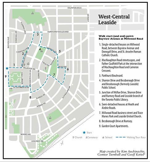 Leaside Walks Part 1 West Central Leasid