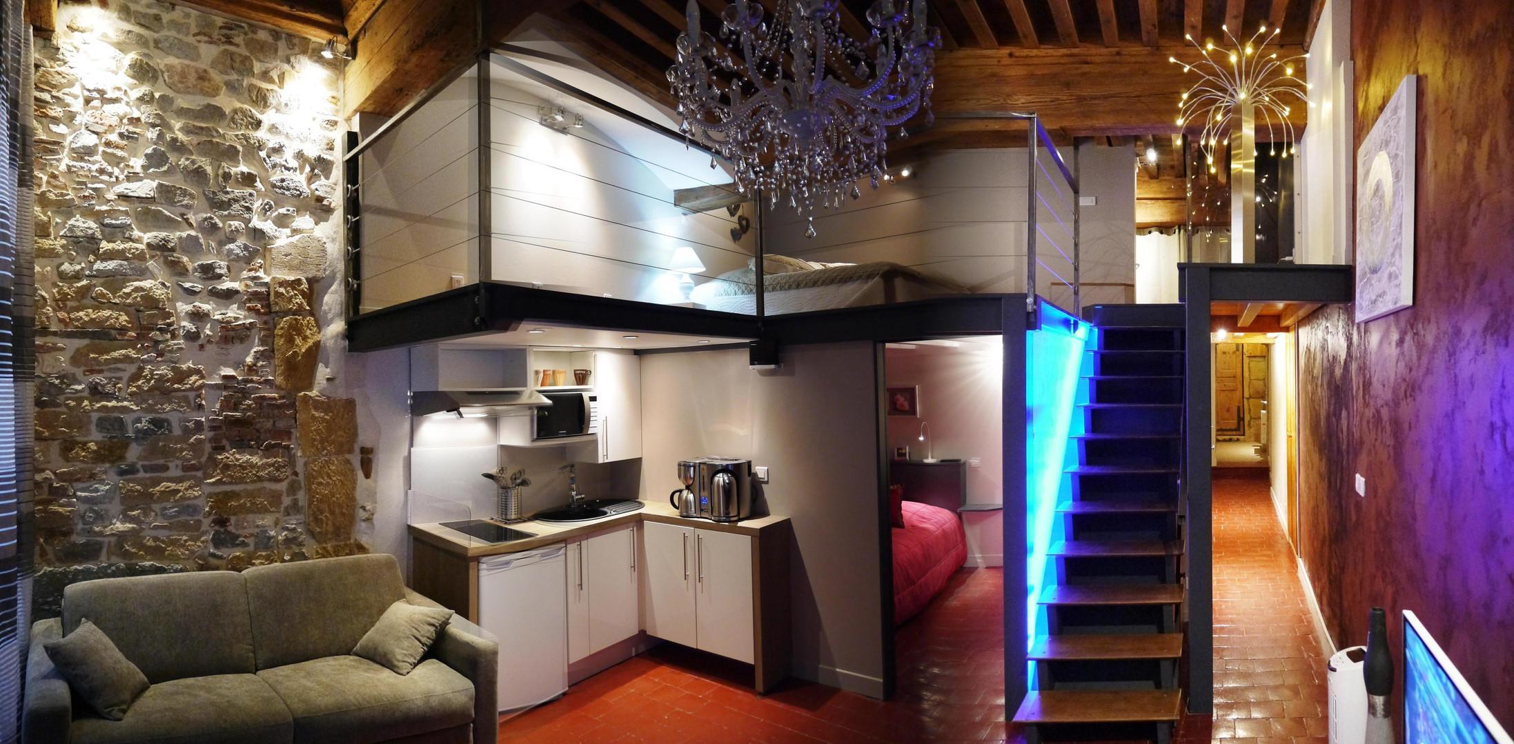 La suite saint Jean - location meublée Lyon