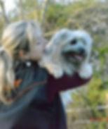 Emilie et son chien - reponsable sauvetage et agility
