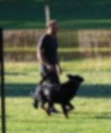 Max et son chien - reponsable sauvetage