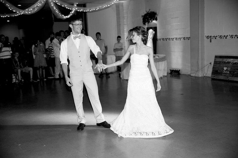 Wedding photographers reception