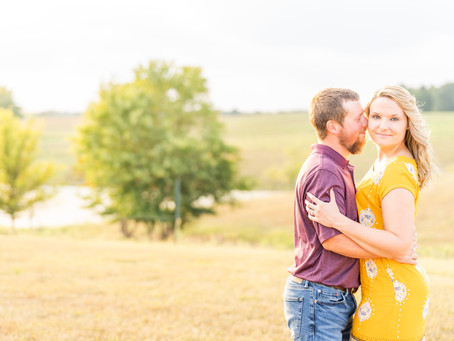 Shawn + Tyla | A Whimsical Engagement Session at the Monkey Hollow Winery