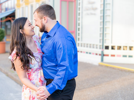 Lee + Crystal  |  A Heart Racing New Harmony Engagement Session