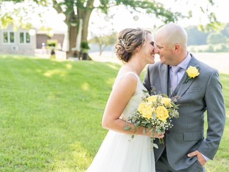 Nick + Danelle | A Blissful Backyard Wedding