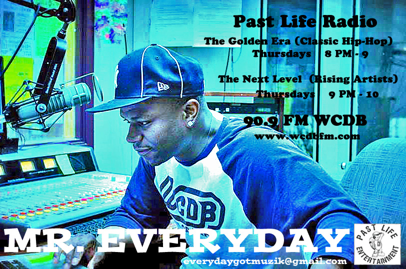 On air MR. Every Day WCDB 90.9FM