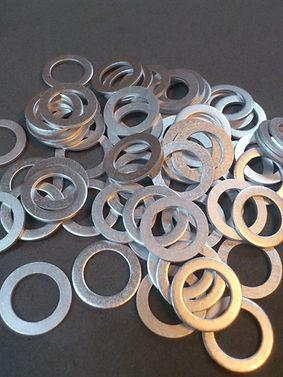 alüminyun pul, karter tapa pul,  dın 7603, pul imalati, alm pul, al pul, alüminyum pullar, metrik alüminyum, unf aluminyum,