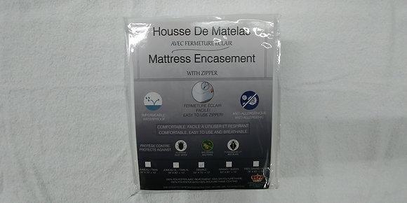 HOUSSE DE MATELAS DOUBLE ANTI PUNAISE