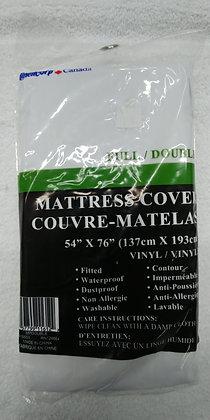 COUVRE MATELAS VINYL ANTI ALLERGIQUE DOUBLE