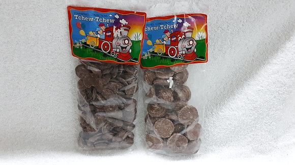 CHOCOLATS PASTILLES OU ROSETTES TCHEW TCHEW
