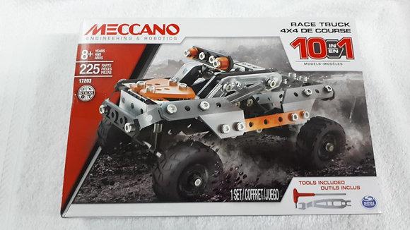 MECCANO CAMION 225 PCS, 10 EN 1