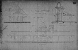 Wyoming Depot Blueprints
