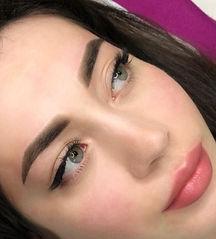 Перманентный макияж бровей и губ фото.jp