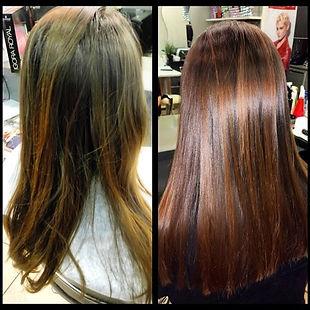 Фото обзор работы по акции нашей студии на окрашивание волос Lebel, увлажняющий уход , стрижка и укладка