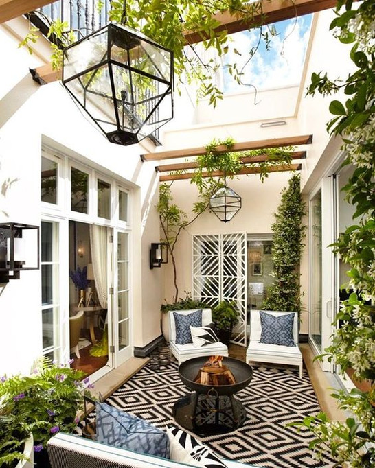 Indoor garden you need one especially in a courtyard zenalen i can imagine having relaxed evenings in my indoor garden drinking wine and having good conversation this is because i associate plants with peace and workwithnaturefo
