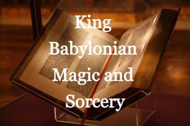 King Babylonian Magic and Sorcery 1896