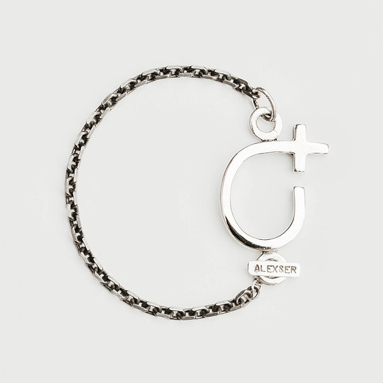Chunky Courage Single Chain Bracelet