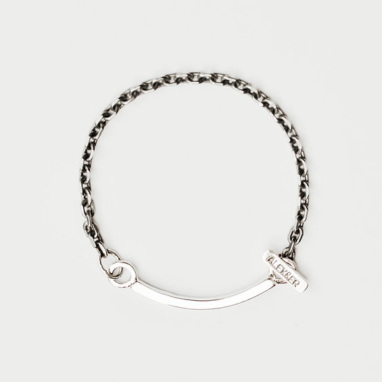 Chunky Happiness Single Chain Bracelet