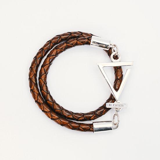 Chunky Love Leather Bracelet