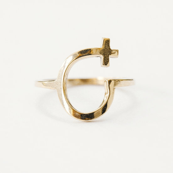 9CT Gold Courage Ring
