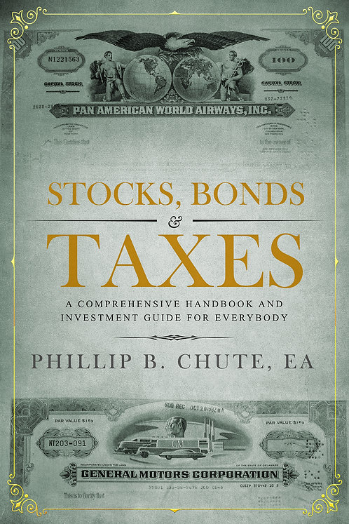 Stocks, Bonds & Taxes: Standard edition (E-book version)