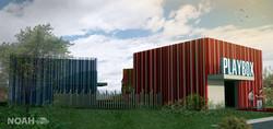 Diseño arquitectónico Play Box Neiva
