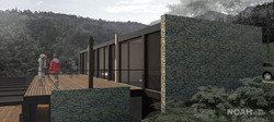 Diseño arquitectonico casa verde