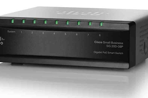 Cisco Small Business Smart Sg200-08p - Switch - 8 Puertos - Cisco Small Busines