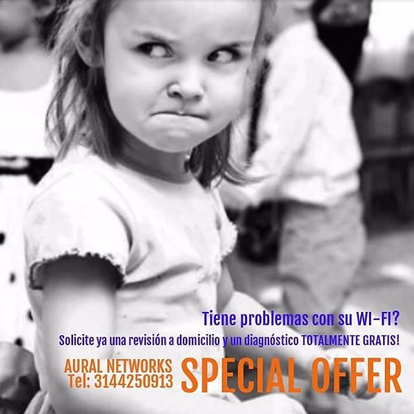 Su wi-fi le hace #bullying _ #auralnetwo