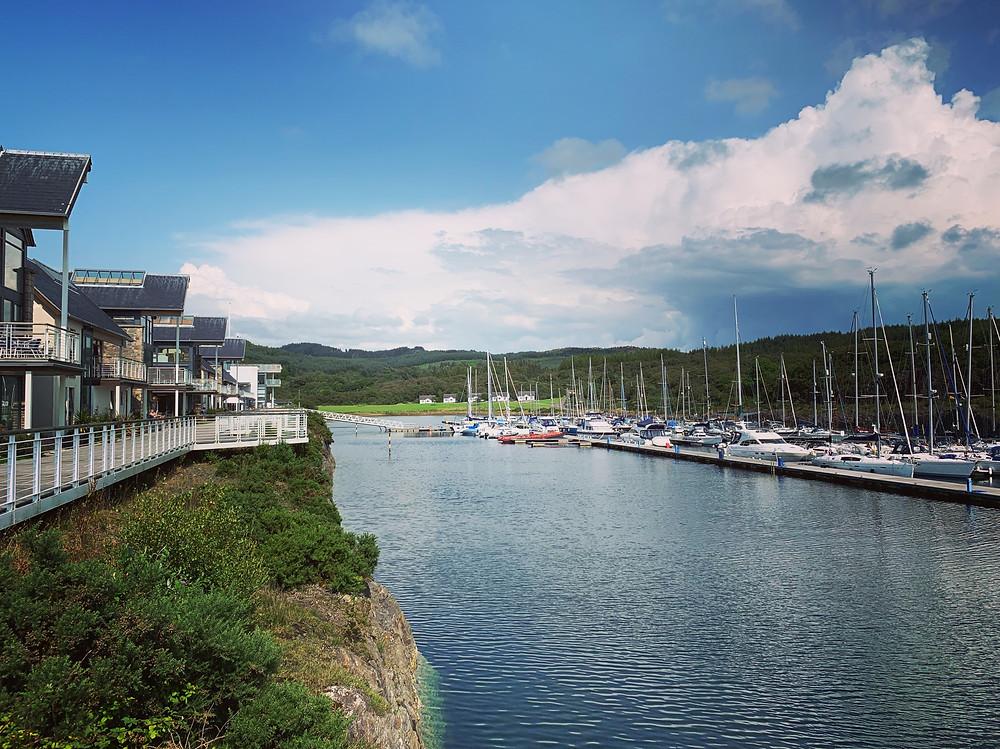 Portavadie Marina, Loch Fyne, Tighnabruaigh