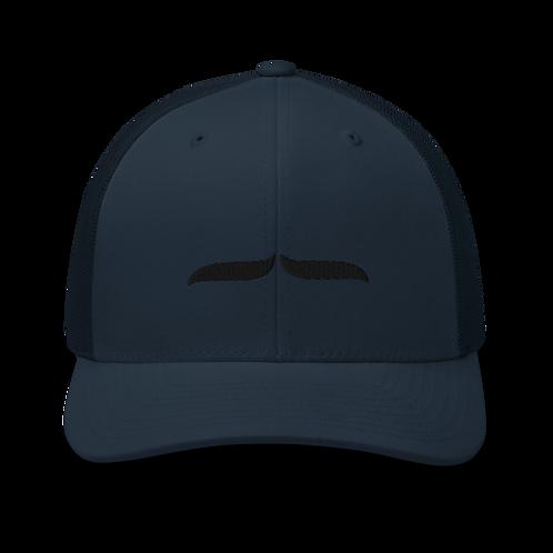 Trucker Cap Black 3D Signature - Navy