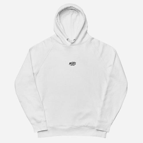 Organic Hoodie - White
