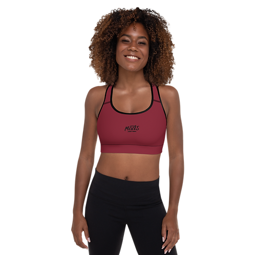 Sports Bra - Wine Heather