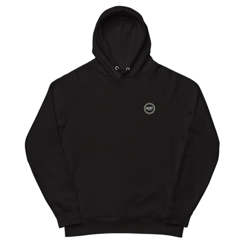 Organic Black Hood Classic - Kaki Patch