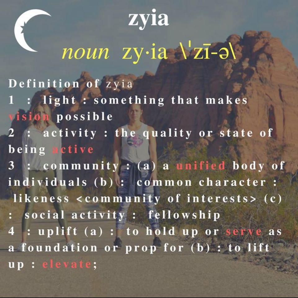 Zyia- Definition