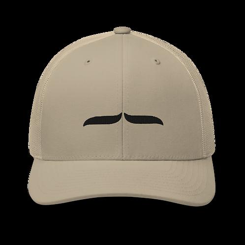 Trucker Cap Black 3D Signature - Sand