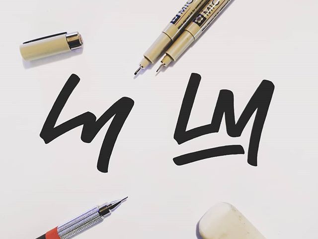 Working on some new logo -LM- #todaystyp