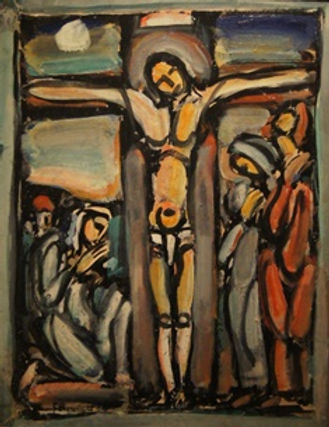 Stations Crucifixion Rouault New Orleans