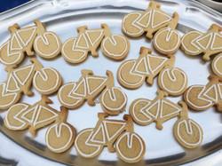 clash bike cookies