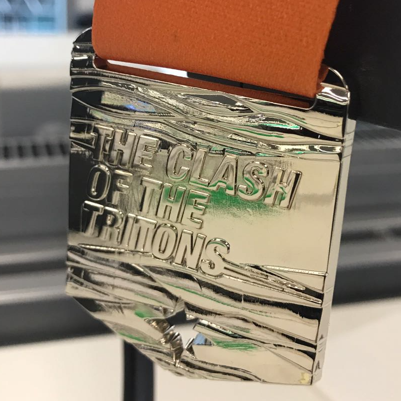 Clash of the Tritons medal