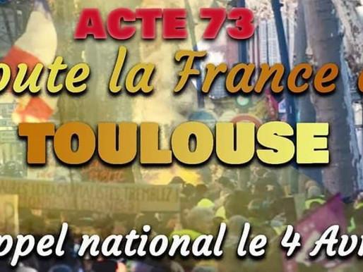 Toulouse: aujourd'hui devait être l'acte national des gilets jaunes