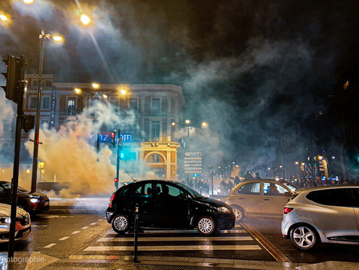 Toulouse: Manifestation après le passage du 49.3