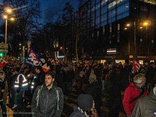 Toulouse: encore une soirée sous les gaz lacrymogènes