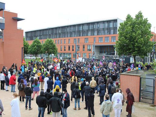 Toulouse: premier rassemblement après le confinement