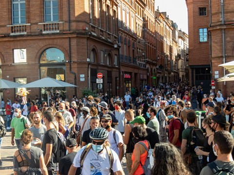 Toulouse: une manifestation impossible