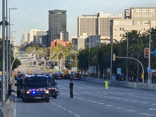 Barcelone: les indépendantistes toujours présent