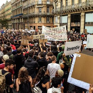 Toulouse: des milliers de personnes au rassemblement pour Adama Traoré et George Floyd