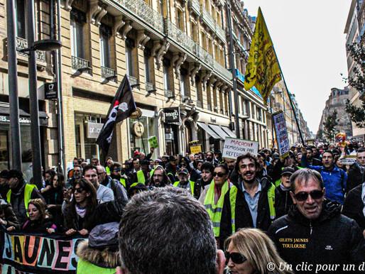 Toulouse: Un acte 65 toujours sous les gaz