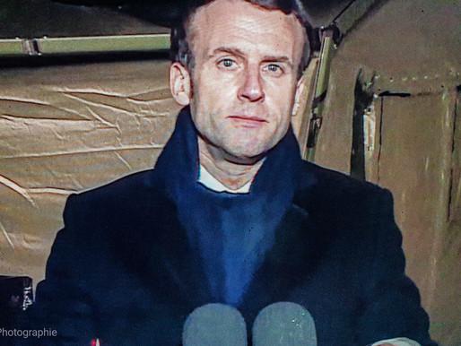 France: Allocution Emmanuel Macron